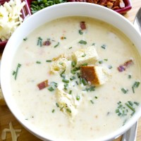 Make Ahead Monday: Potato Soup