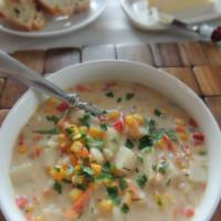 Make Ahead Monday: Corn and Potato Chowder