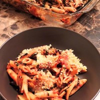 Make Ahead Monday: Baked Penne