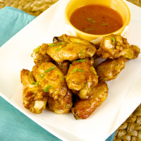 Crispy Baked Thai Chili Wings