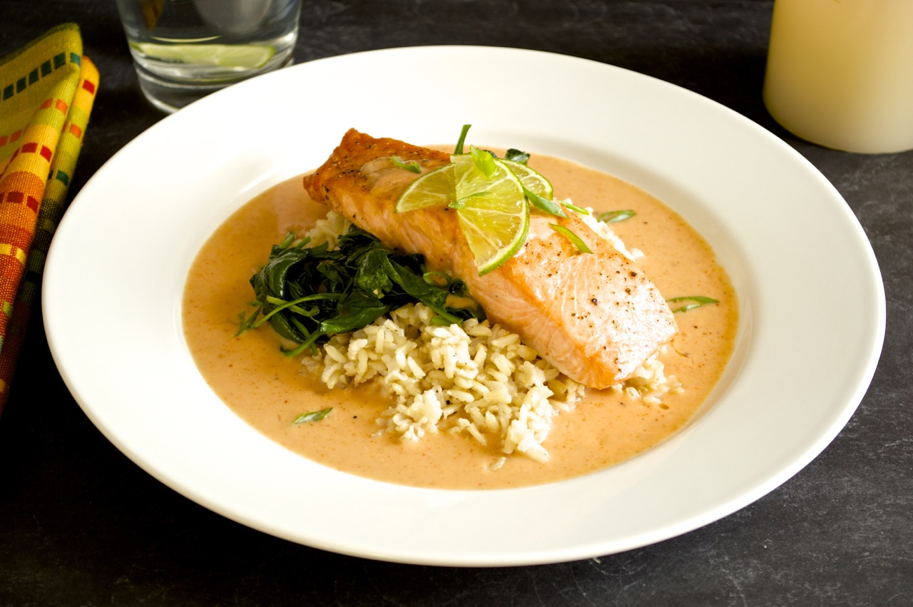 Red Curry Salmon