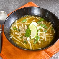 Make Ahead Monday: Five-Spice Chicken Soup