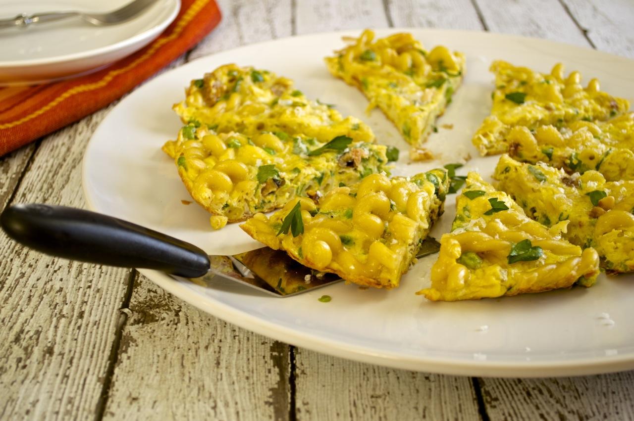Pasta Frittata - Fashionable Foods