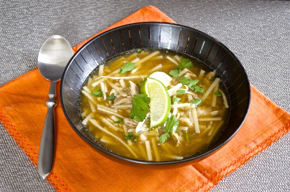 Make Ahead Monday: Five-Spice Chicken Soup - Fashionable Foods