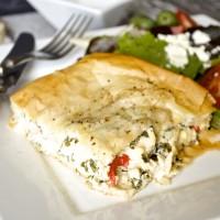 Make Ahead Monday: Greek Chicken Tart
