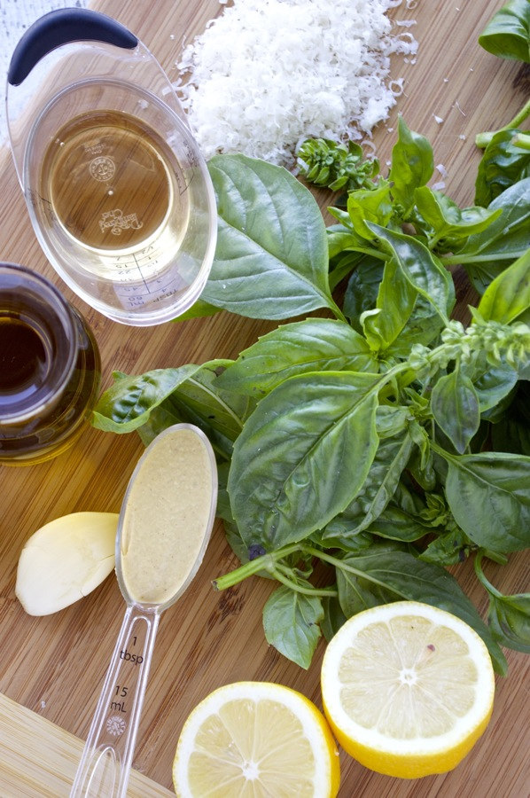 Basil Dressing Ingredients