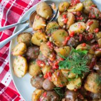 Vinaigrette Potato Salad