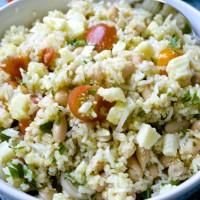 Make Ahead Monday: Mediterranean Quinoa-Rice Salad