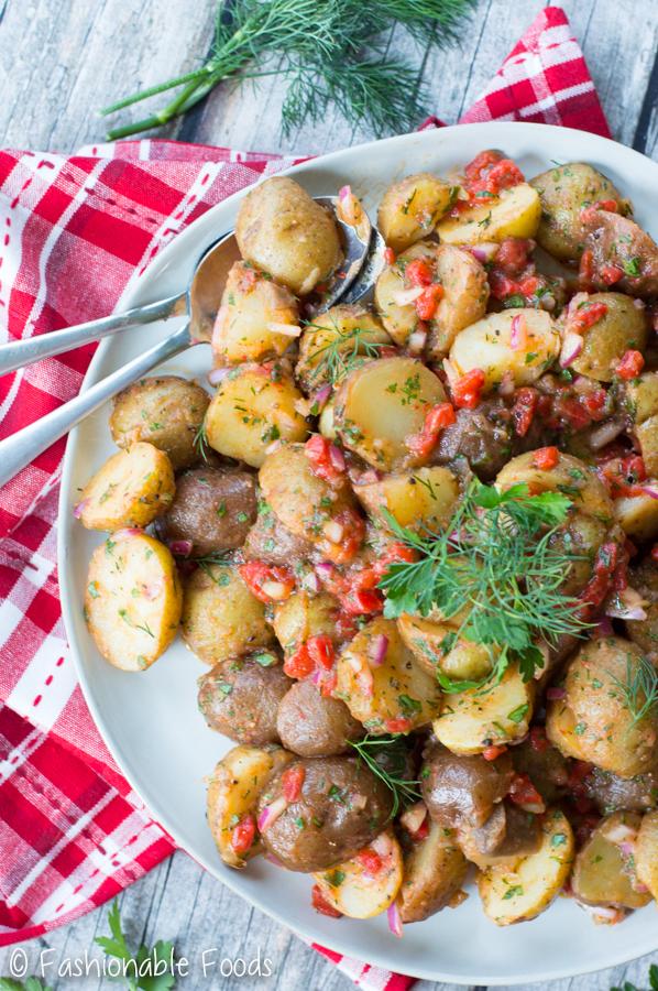Vinaigrette Potato Salad