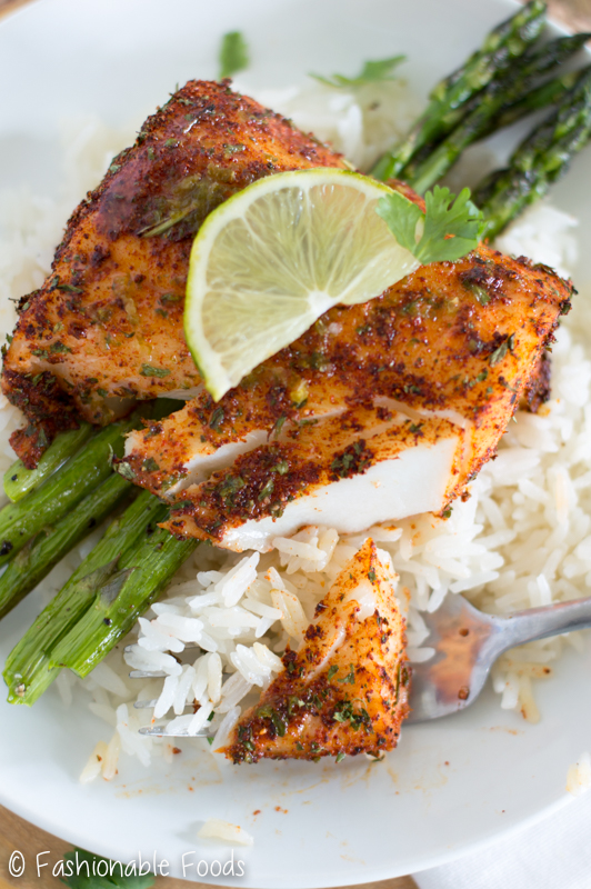 Roasted chili lime cod for Fish meal ideas