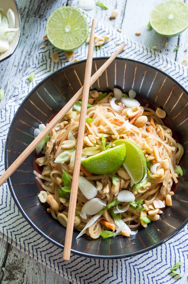 Chicken pad thai fashionable foods chicken pad thai forumfinder Gallery
