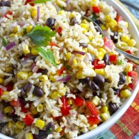 Southwest Brown Rice Salad