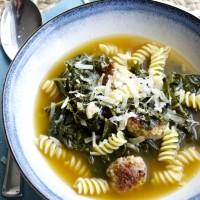 Make Ahead Monday: Kale and Sausage Noodle Soup