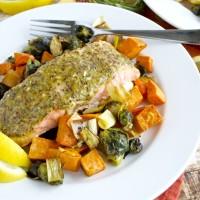 Make Ahead Monday: Roasted Maple-Mustard Salmon