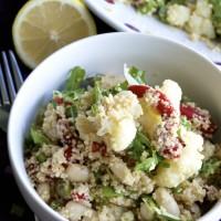 Tri Color Couscous Salad