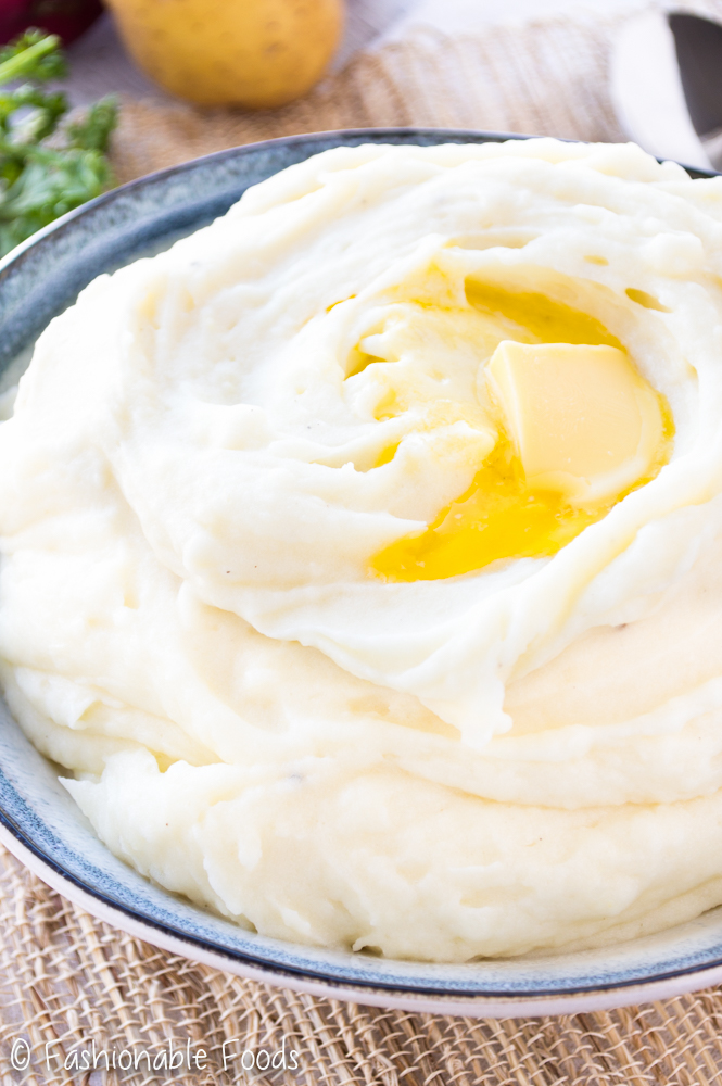 how to make fluffy mashed potatoes without milk