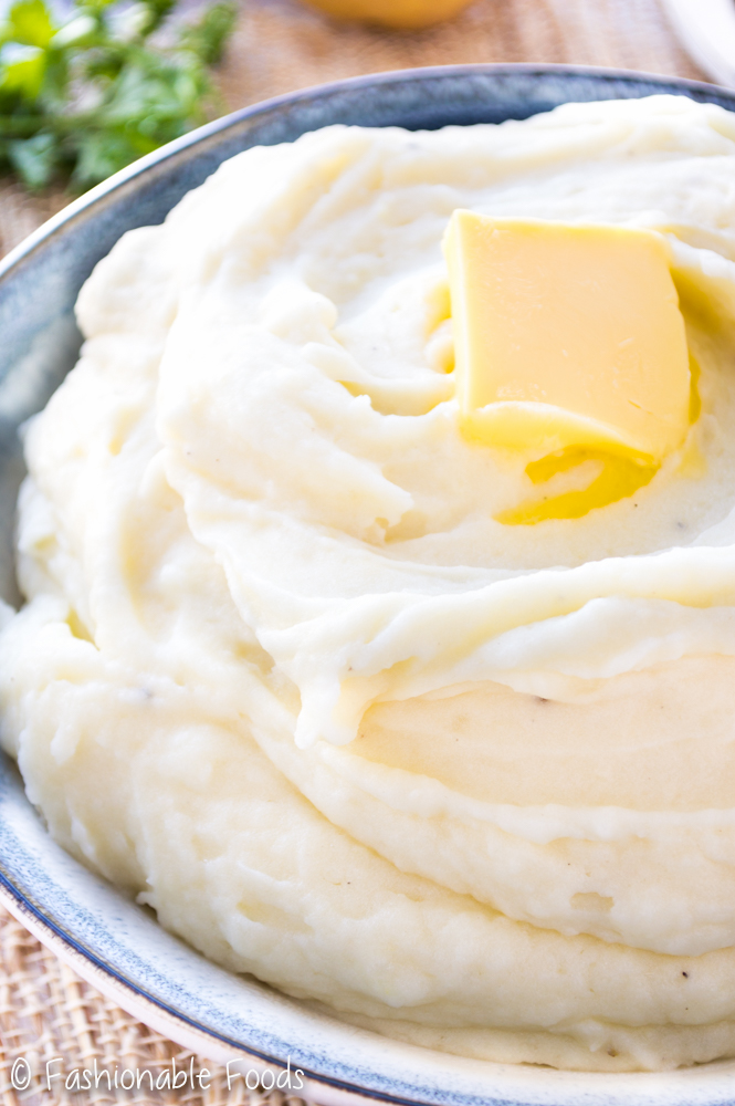 Perfect Mashed Potatoes - Fashionable Foods