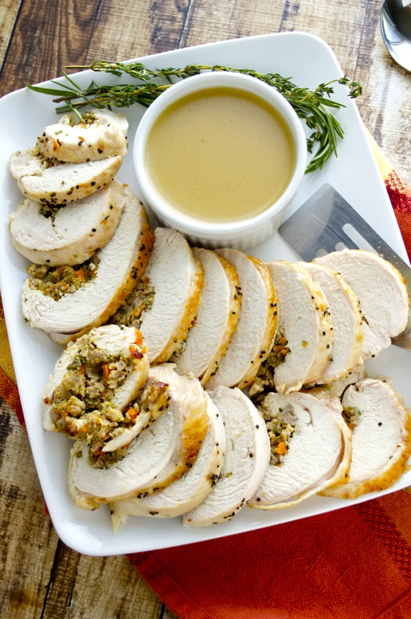 Turkey roulade fashionable foods for What to serve with thanksgiving turkey