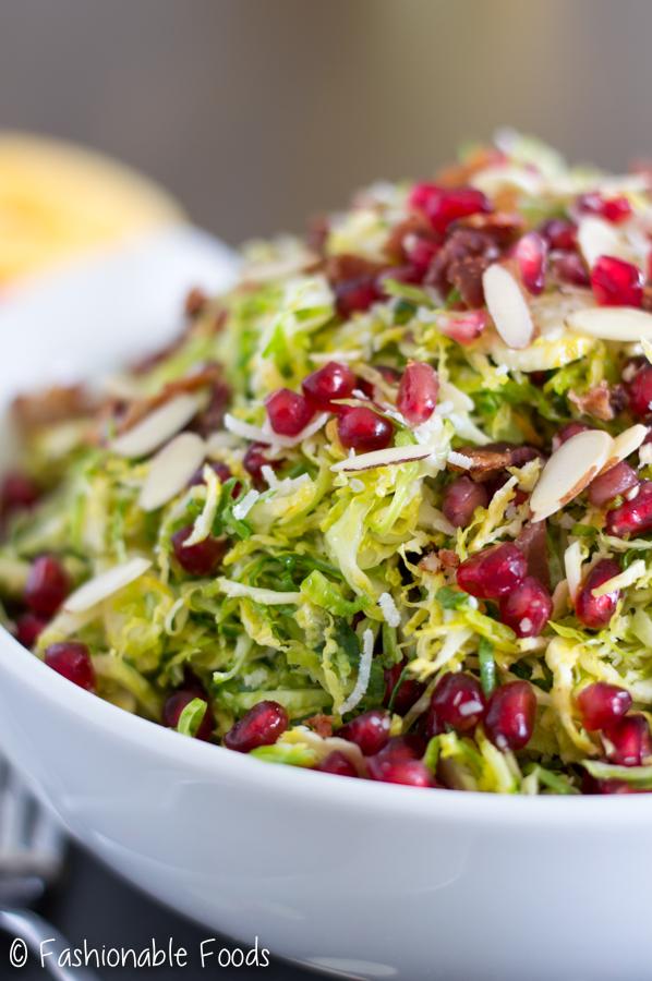 Christmas Salad {with Orange Vinaigrette}