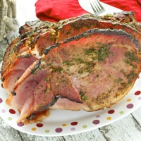 Herb Crusted Ham