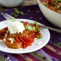 Make Ahead Monday: Sausage and Peppers
