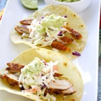 Spiced Chicken Tacos