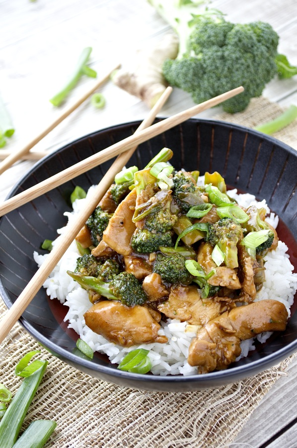 Chicken with Broccoli Stir Fry