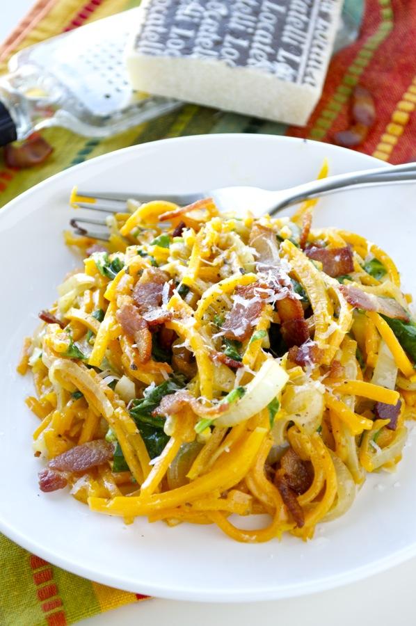 Creamy Butternut Squash Noodles 2