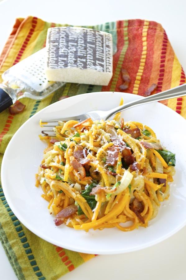Creamy Butternut Squash Noodles