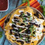 Loaded Nachos {Vegetarian}