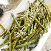 Lemon Roasted Green Beans