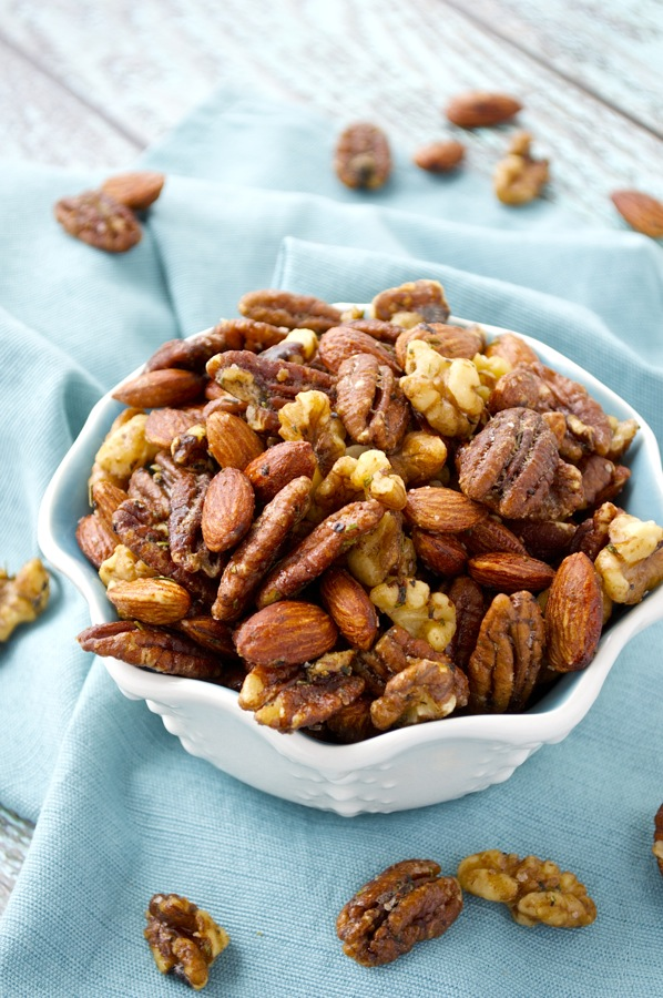 Spiced Herbed Nuts