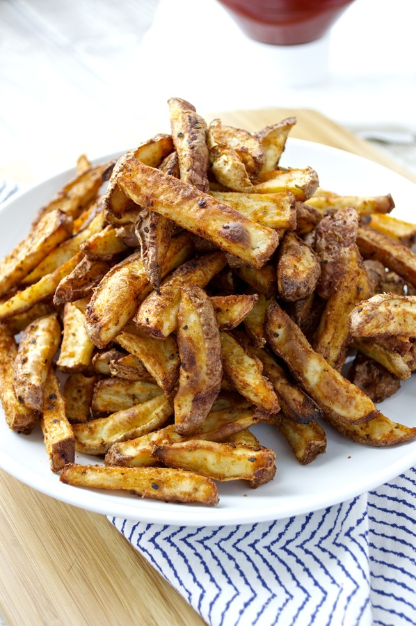 Crispy Seasoned Oven Fries Recipe — Dishmaps