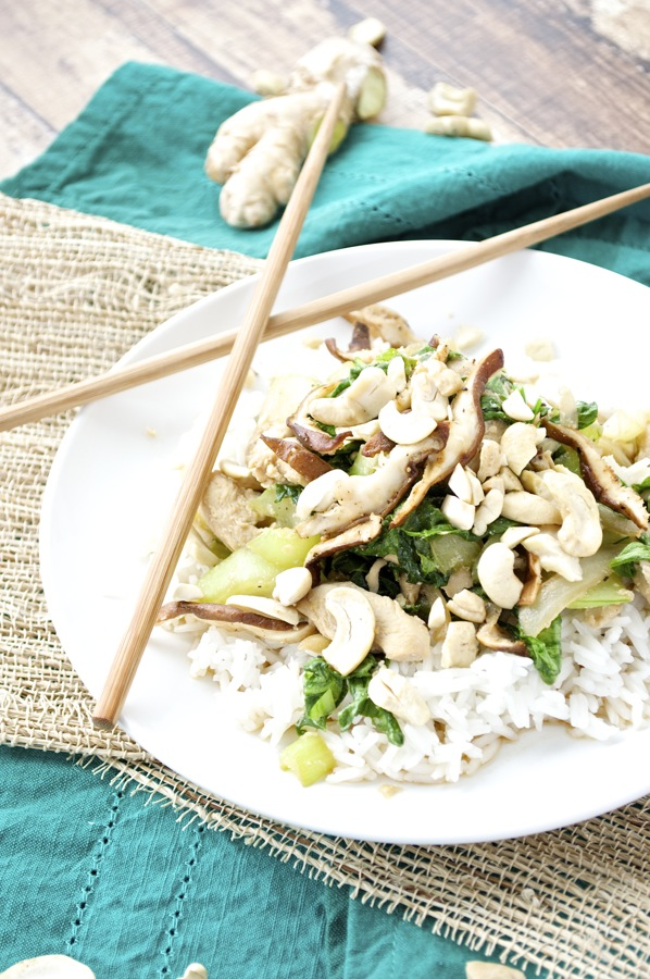 Chicken Bok Choy Stir Fry
