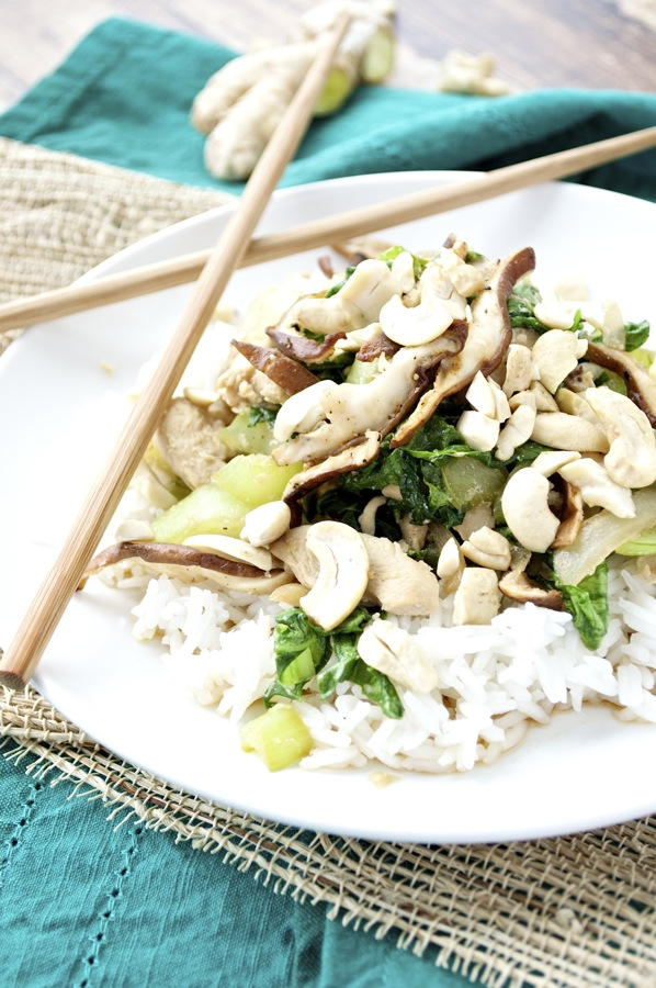 Chicken Bok Choy