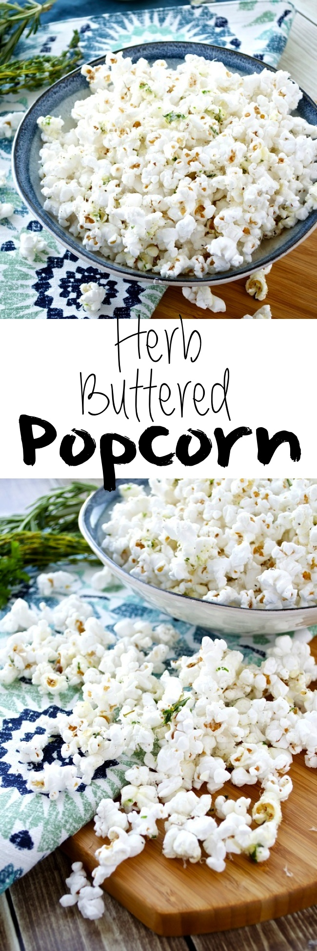 Herb Buttered Popcorn Pin