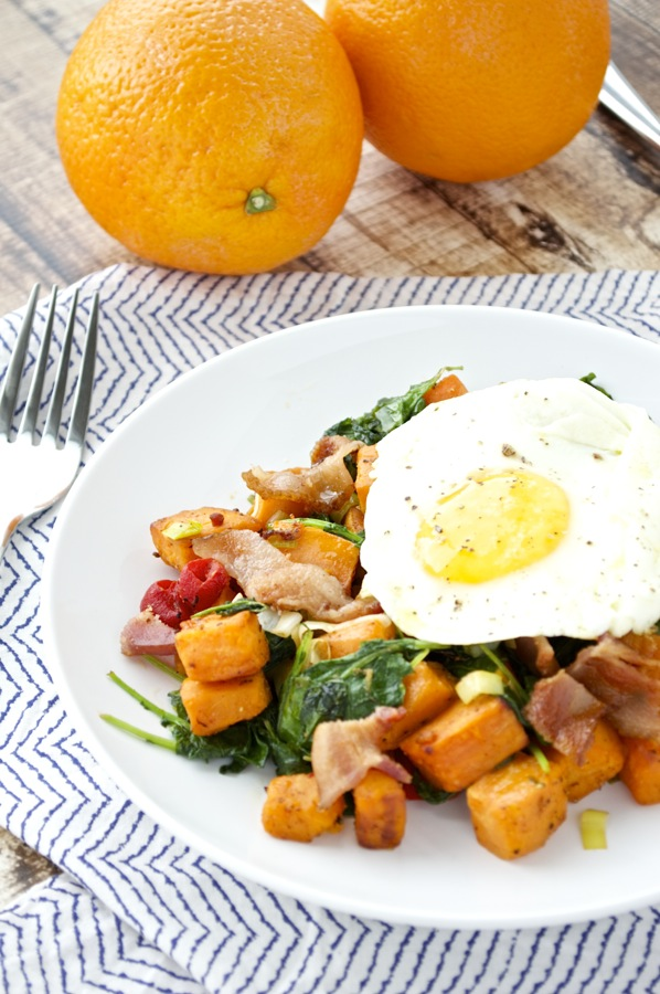 Kale Sweet Potato Hash