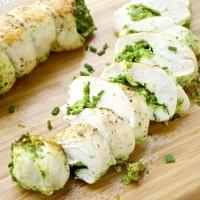 Pesto Stuffed Chicken Breasts