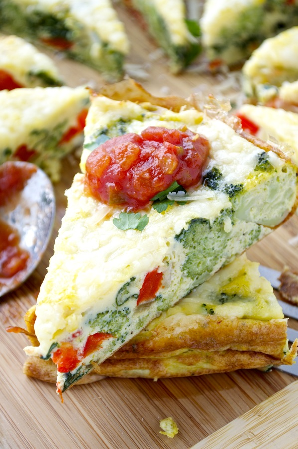 Piece of Frittata
