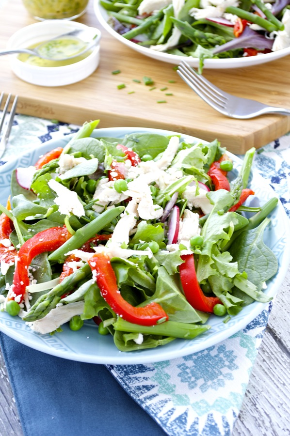 Spring Vegtable Salad