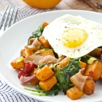 Sweet Potato and Kale Hash