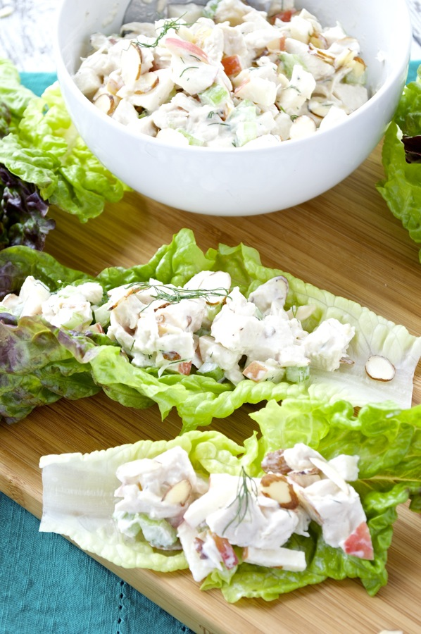 Almond and Apple Chicken Salad