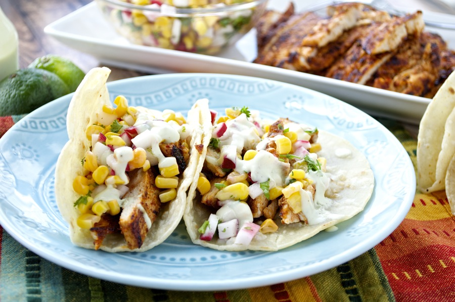 Chipotle Chicken Taco