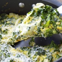 Roasted Fennel and Kale Frittata