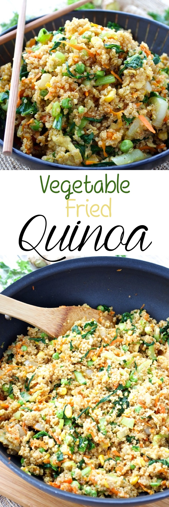 Vegetable Fried Quinoa Pin