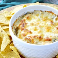 Caramelized Onion and Spinach Dip