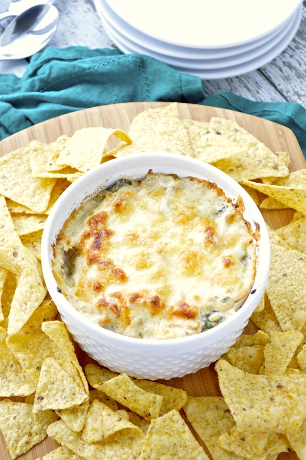 Caramelized Onion and Spinach Dip - Fashionable Foods