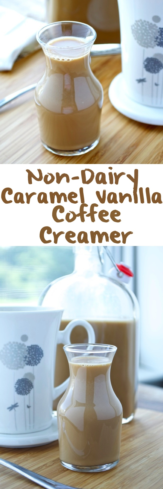 Caramel Vanilla Coffee Creamer Pin