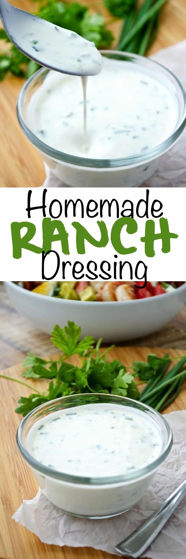 Homemade Ranch Dressing Pin