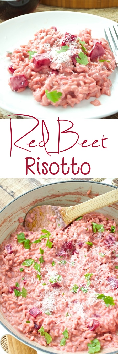 Red Beet Risotto Pin